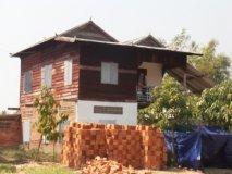 Zadní školní budova v rekonstrukci - únor 2013