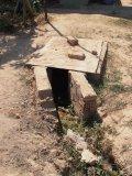 Kanalizační přepad ven z pozemku