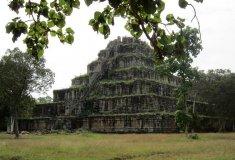 Pyramidový chrám Koh Ker