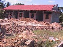 Zdi, navážení zeminy - prosinec 2011