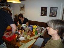 Příprava u Lindy na Břevnově - Johan, Jorga a Erika