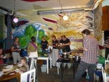 Vaření v Klubovně - Jakub, Anka, Erika, Dáša, Linda, Johan, Tobeš