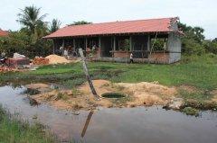 Vpředu zatopená studna