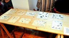 Velký souboj byl o 10 Honzových kreseb ptáků z první poloviny 60. let. Z vyvolávací ceny 300,- Kč se některé vyšplhaly přes 3000,- Kč