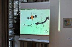 Jedna z Honzových kreseb ptáků z první poloviny 60. let
